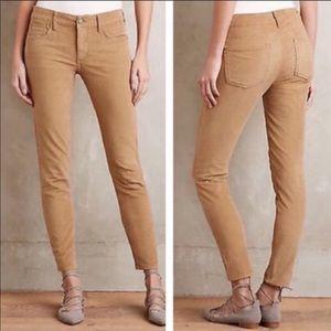 Anthropologie Pilcro Corduroy Stet Skinny Jeans